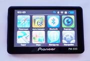 Навигатор Pioneer PM-550+встроенный видеорегистратор