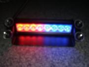 Стробоскопы под стекло красно - синий,  белый+белый,  синий+синий LED 21